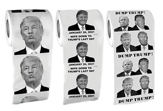 Donald Trump Toilet Paper 3 Pack